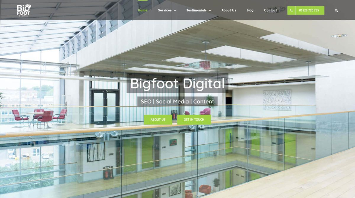 Bigfoot Digital - Yorkshire based Social Media & SEO Agency