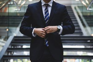 Boss giving social media plan to employees