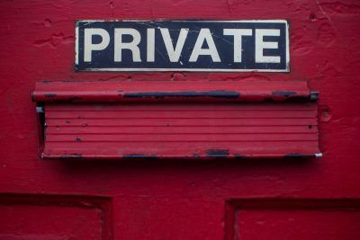 Social groups going private