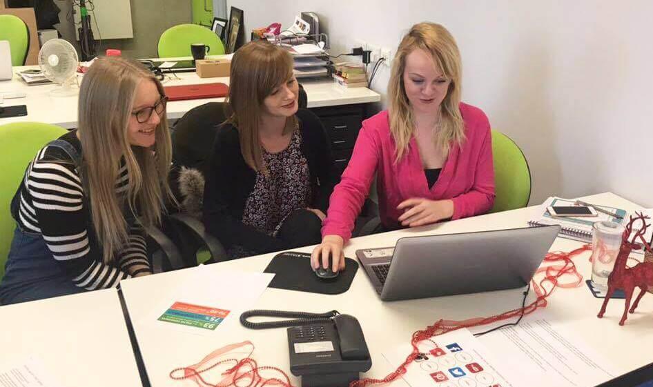 Digital Marketing Team Discussion