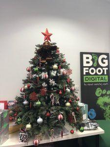 Bigfoot Digital Christmas Tree