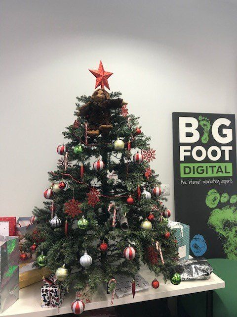 Bigfoot Digital Christmas Tree