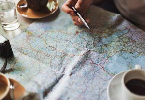 Finding local SEO on a map