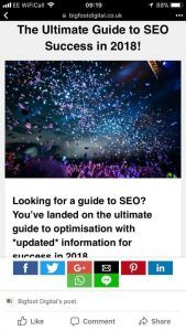 guide to seo on a mobile device