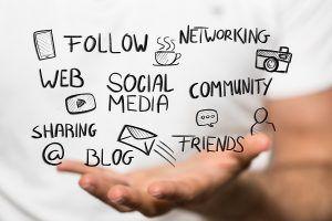 social media marketing graphic
