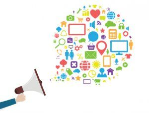 media media marketing graphic