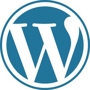 Wordpress website design logo.