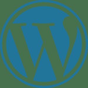 Wordpress website design logo