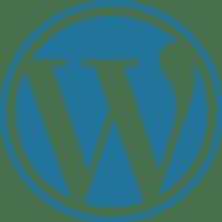 WordPress Web Development Logo.