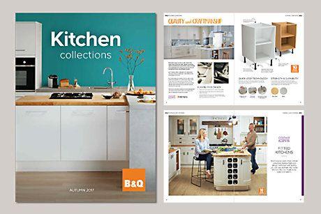 print marketing brochure for B&Q