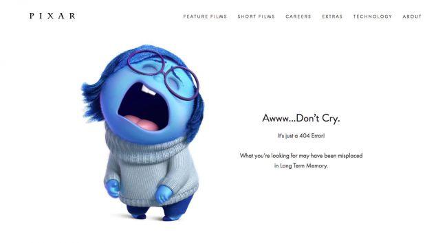 404 error found after a website redesign.