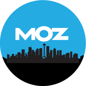 Moz logo to track digital marketing Manchester campaign.