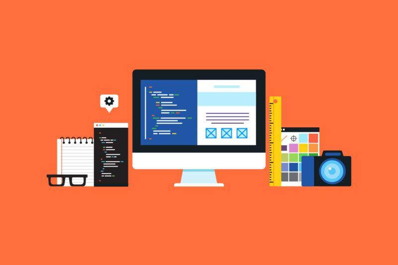 Website Development Vector: E-commerce platforms