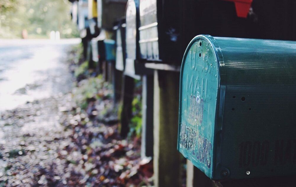 Postbox representing an outdated email marketing strategy