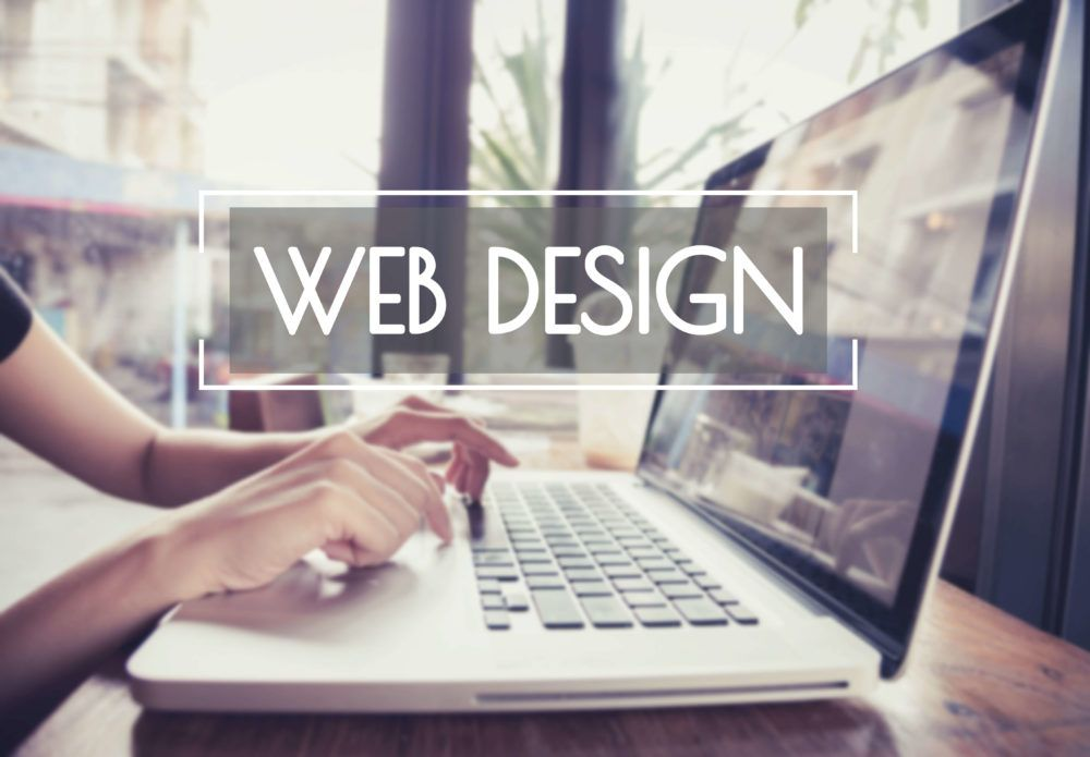 Woman searching for website design Glasgow.