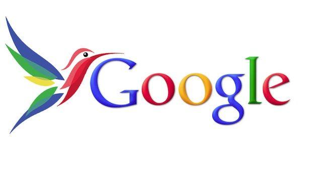 Google Hummingbird algorithm update.