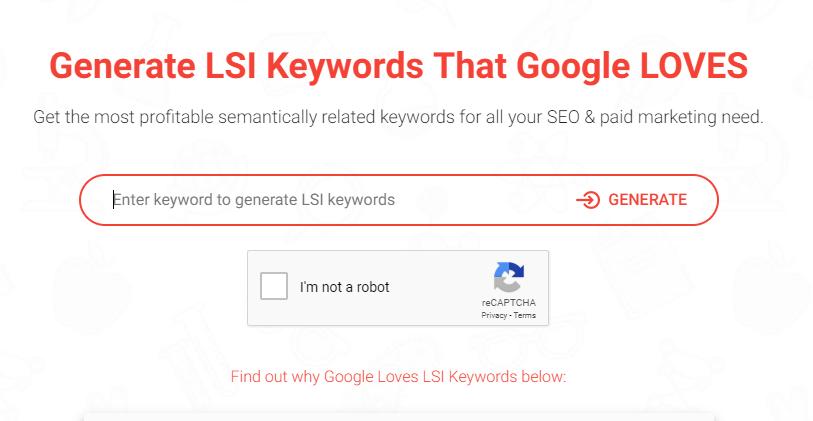 SEO Technique to kind lsi keywords.
