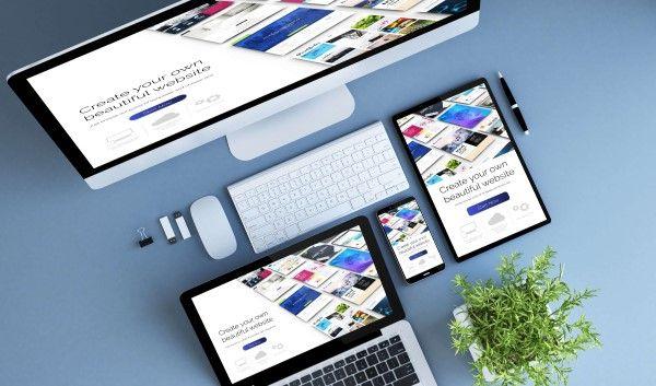Business website design Birmingham on multiple devices