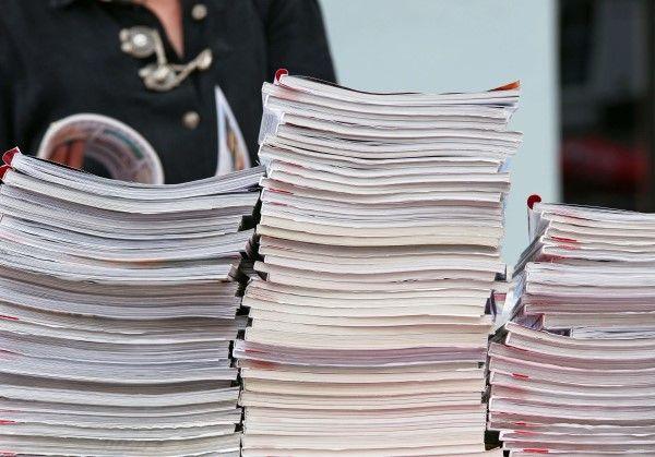 A pile of magazines for PR Birmingham
