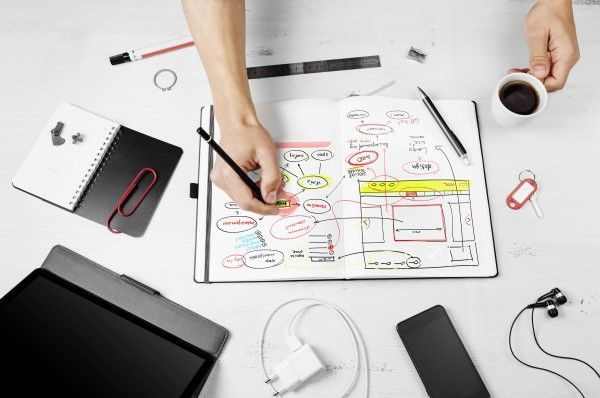 Planning for website design Birmingham