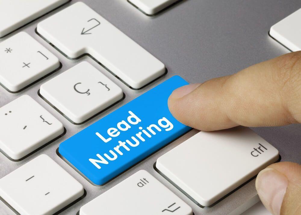 Marketing funnel stages lead nurturing