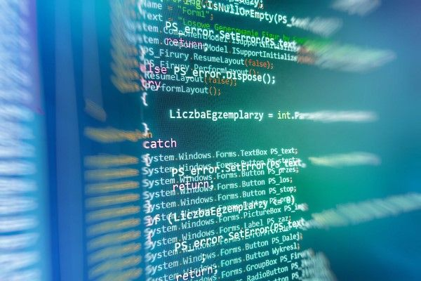 WordPress Website Design Edinburgh code on a screen