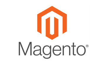 Magento website design logo.
