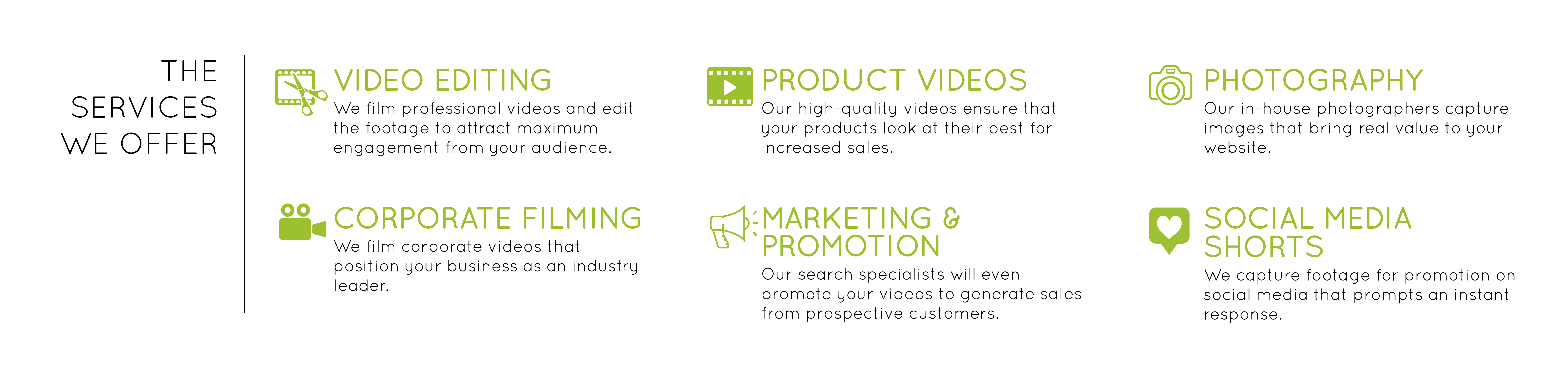 Video production banner