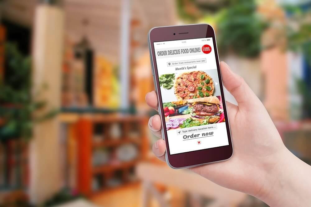 food marketing on iphone