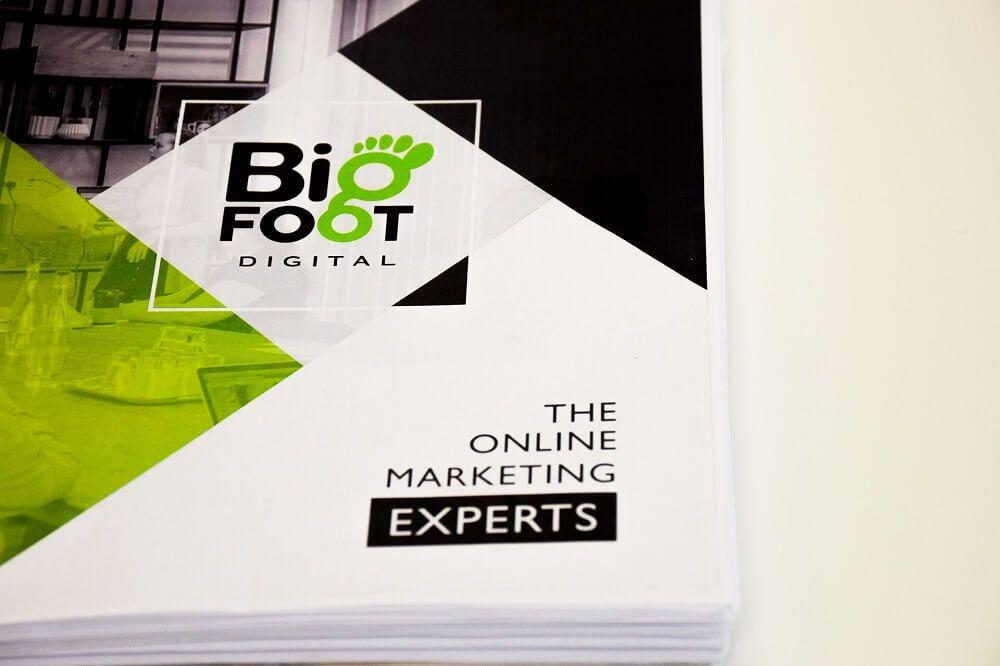 food marketing bigfoot logo