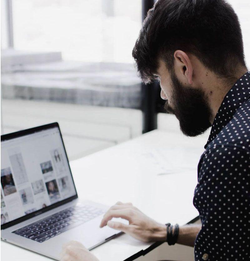 Magento website design from a digital marketing company.