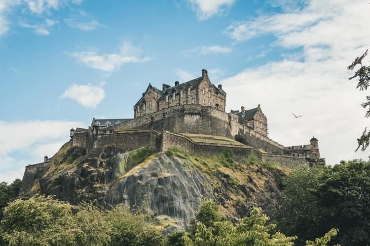 seo edinburgh landmark edinburgh castle