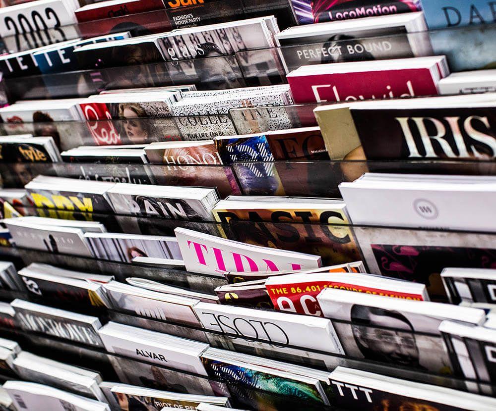 Magazines about reputation management.