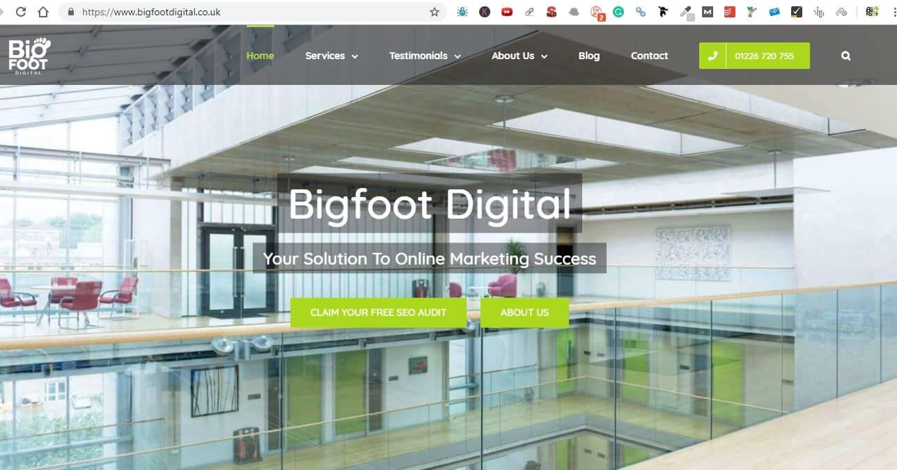 bigfoot site security